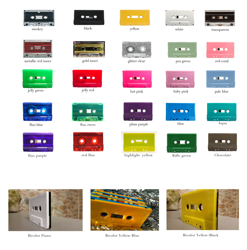 Cassette Duplication Colors - Analogcut berlin