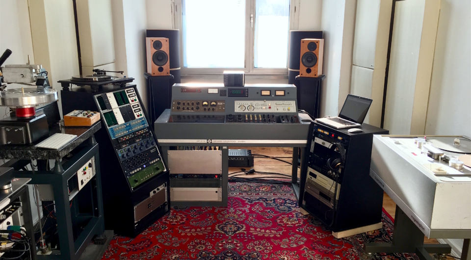 Analogcut Mastering – Studio View